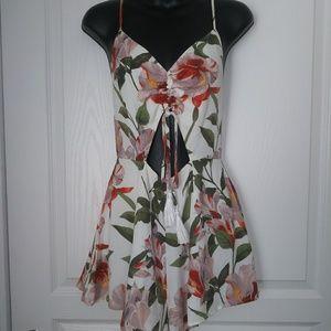 Fashion Nova Tropical Romper
